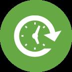 Bridge Loans in Virginia-loans icon with clock