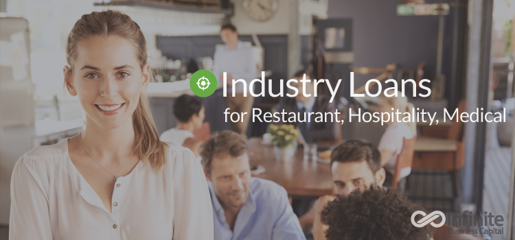 Loans for businesses-restaurant-medical-hospitality-restaurant owner on the job