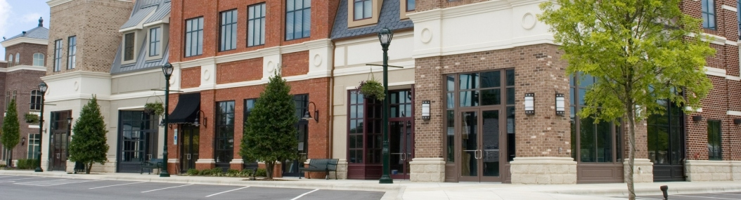 Real Estate Loans in Virginia-storefront downtown